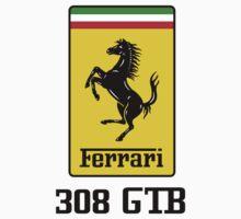 Ferrari 308 GTB Kids Clothes