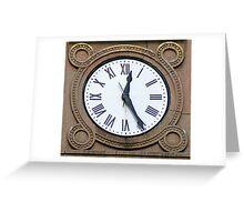 LandMark Time Piece Greeting Card