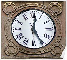 LandMark Time Piece Poster