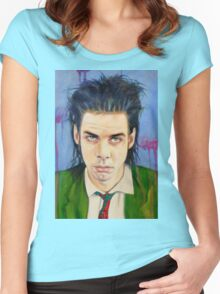 Nick Cave Women's Fitted Scoop T-Shirt