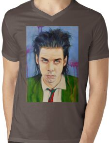 Nick Cave Mens V-Neck T-Shirt