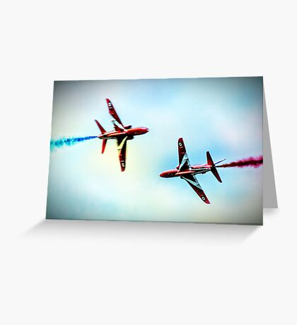 Synchro Split Greeting Card