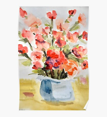 Red Poppies for Belinda Poster