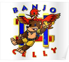 Banjo Celly T-Shirt Poster