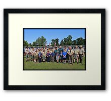 Saturday Scouts Framed Print