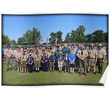 Saturday Scouts Poster