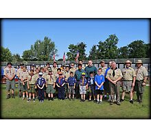 Saturday Scouts Photographic Print