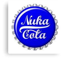 Nuka Cola Bottle Cap Shirt Canvas Print