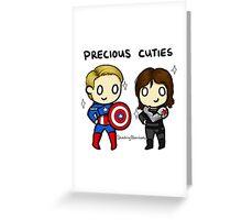 Precious Cuties Greeting Card