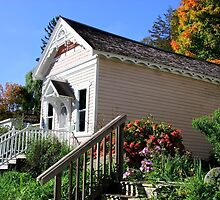 Public Library - Taylors Falls, Minnesota by kkmarais