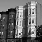Historic little Buildings-B&W by henuly1