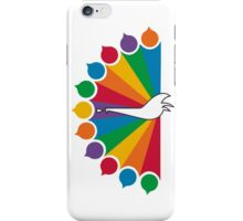 Color Peacock iPhone Case/Skin