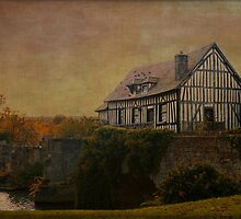 The Old Mill - Vernon, Normandie by Jean-Pierre Ducondi