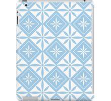 Light Blue 1950s Inspired Diamonds iPad Case/Skin