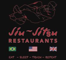 Jiu-Jitsu restaurant by ANDIBLAIR