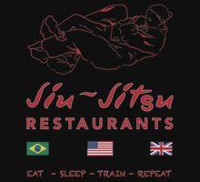 Jiu-Jitsu restaurant by ANDIBLAIR