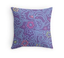 PASTEL FLOWERS 1 Throw Pillow