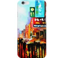 Lights of Downtown iPhone Case/Skin