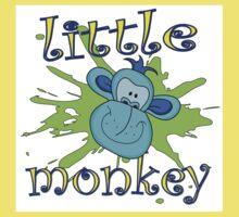 little monkey Kids Tee