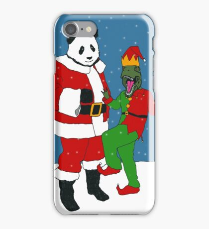 Jurassic Christmas iPhone Case/Skin