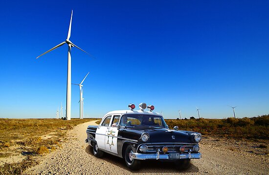 Border Patrol c.1955 by WildBillPho