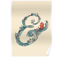 Water Ampersand Poster