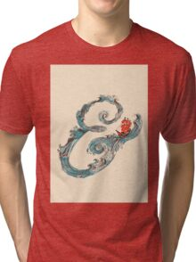 Water Ampersand Tri-blend T-Shirt