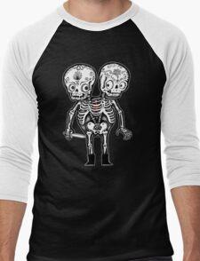 Calavera Twins Men's Baseball ¾ T-Shirt