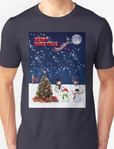 Christmas North Pole Style Unisex T-Shirt