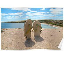 Beach thongs Poster