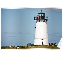 Afternoon At Edgartown Light Poster
