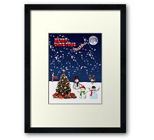 Its a North Pole Christmas Framed Print