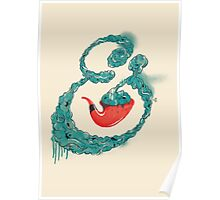 Smoke Ampersand Poster