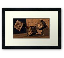 Puzzle Box Framed Print