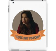 *Cute but Psycho* [Tracy] iPad Case/Skin