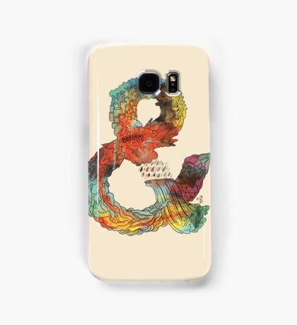 Psychedelic Ampersand Samsung Galaxy Case/Skin