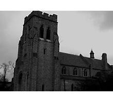 Gothic November Photographic Print
