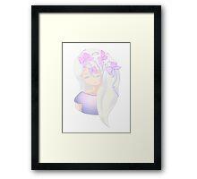Fantasy Chibi girl Framed Print