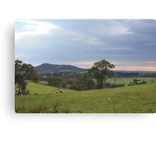 Mt Barker from Wistow Canvas Print