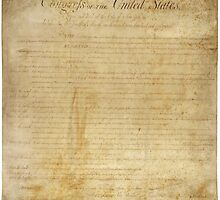 Original United States Constitution Bill of Rights December 15, 1791 by allhistory