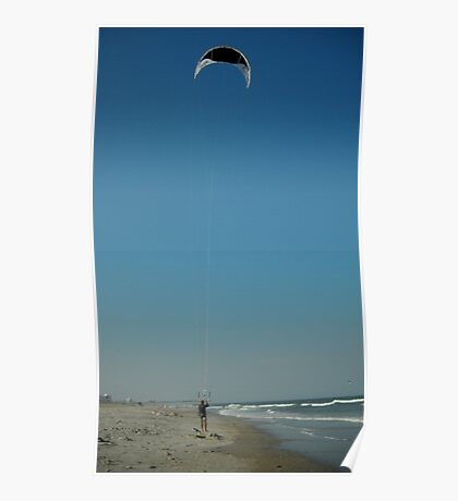 The Kiteboarder Poster