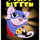 Peace Kitten - superhero for peace by Fizzism