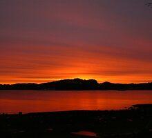 November Sunrise by Gail Bridger