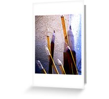 Fumes of Glory Greeting Card