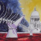 millenium bridge London by Ivor