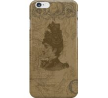vintage historical old style phone case iPhone Case/Skin