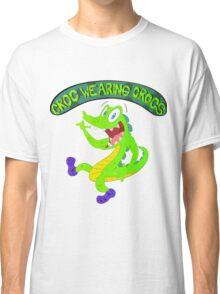 Croc Wearing Crocs Classic T-Shirt