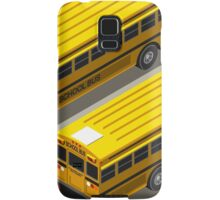 School Bus Vehicle Isometric Samsung Galaxy Case/Skin