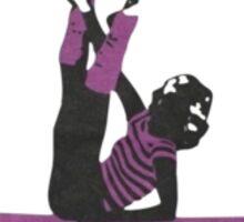 Jane Fonda Workout Retro 80s Sticker