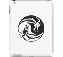 Dragon, Yin Yang, Doctormo, Dring, Drang, Eastern, iPad Case/Skin